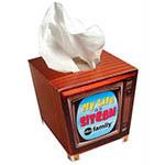 TV Facial Tissue Box