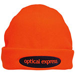 Bright Orange Safety Toque