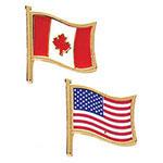 Drapeau du Canada ou des États-Unis