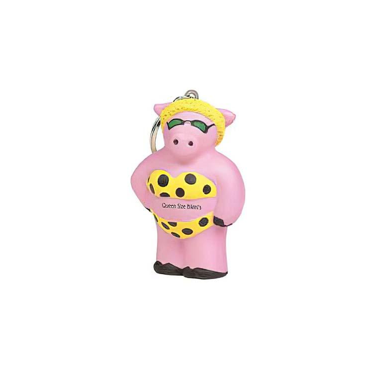 Porte-clés cochon anti-stress #2