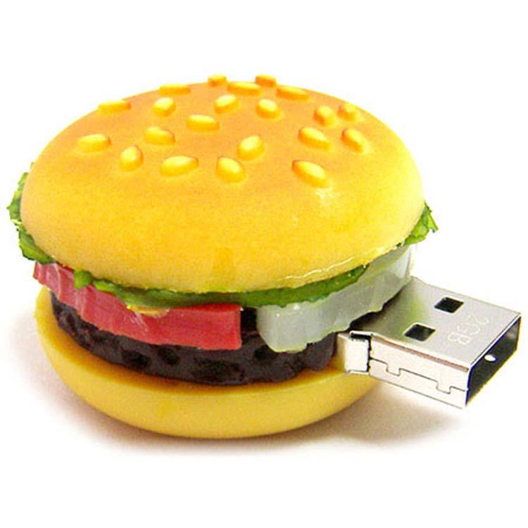 Bâton de mémoire USB en forme d'hamburger