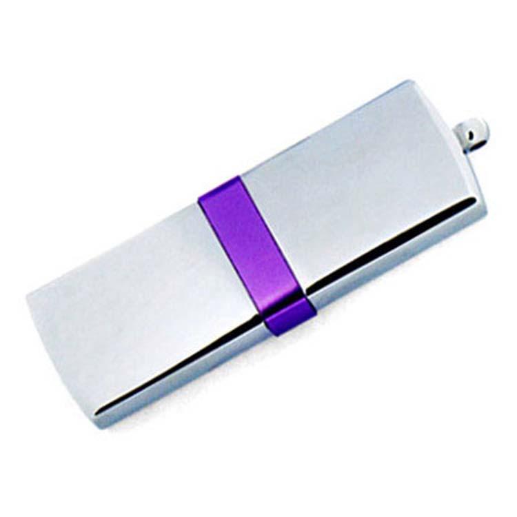 Clef USB chromée