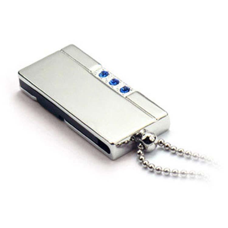 Bâtons de mémoire USB chrome
