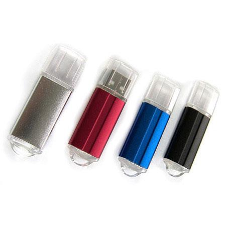 Bâton de mémoire USB en aluminium coloré