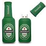 Bâton USB en forme de bouteille de bière