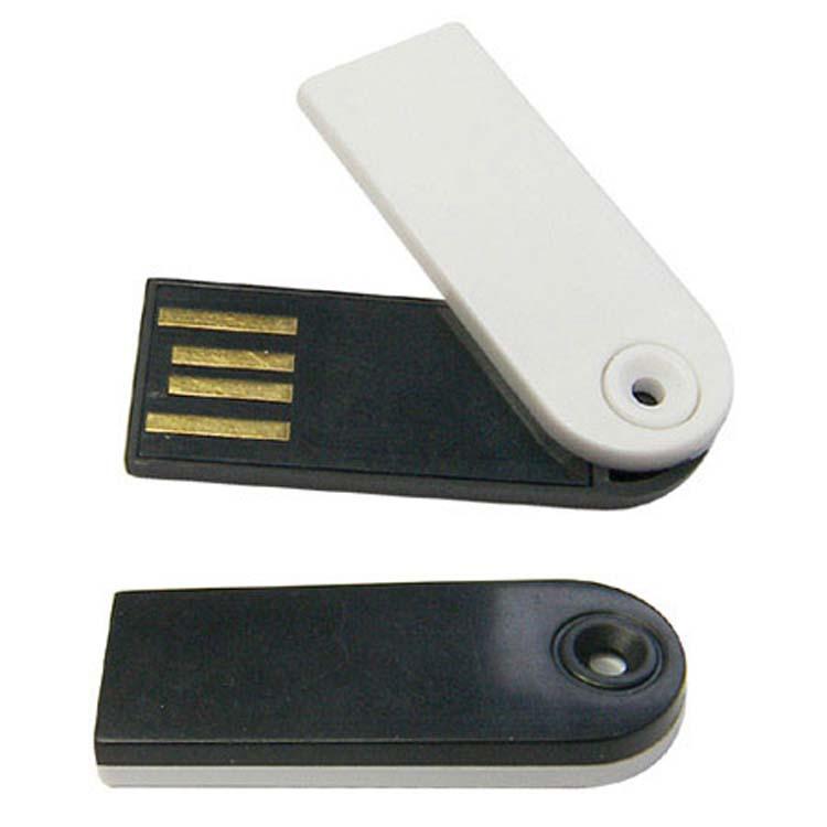 Bâton USB mince pivotant