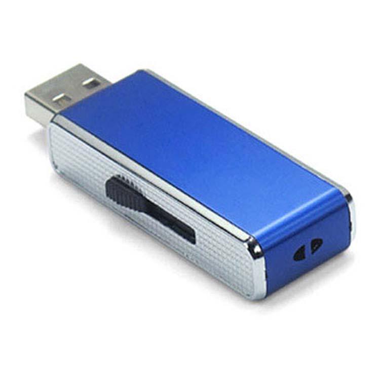 Bâton USB compact chromé