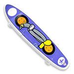 Bâton de mémoire USB skateboard