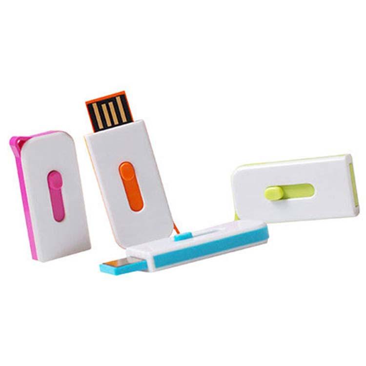 Bâton USB coloré rétractable