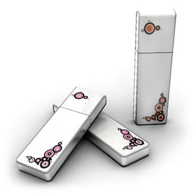Bâton USB avec décorations graphiques
