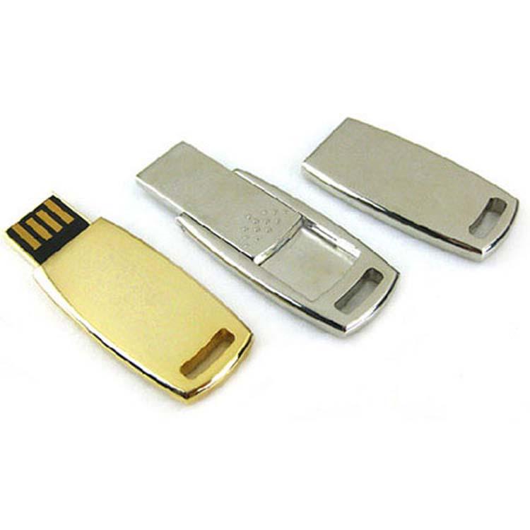 Clés USB métallisées