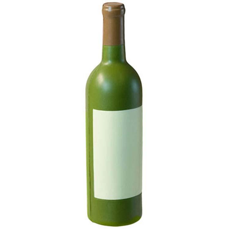 White Wine Bottle Stress Reliever