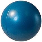 Balle anti-stress lustrée perle - Bleue