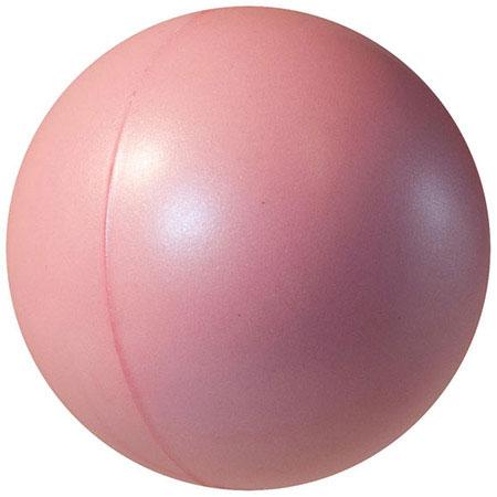 Balle anti-stress lustrée perle - Rose