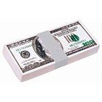 Liasse de billets de 100 dollars US balle anti-stress