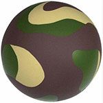 Balle anti-stress camouflage