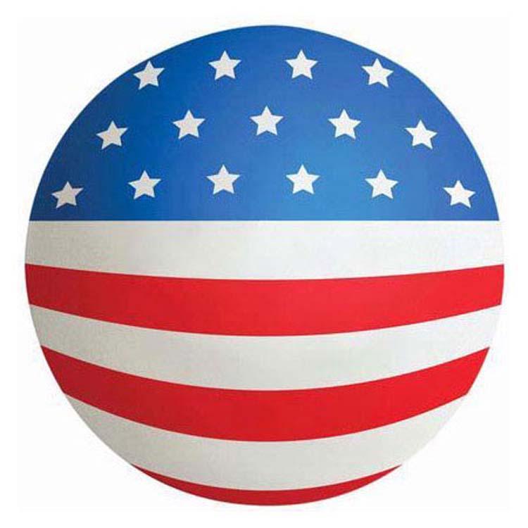 Balle anti-stress drapeau américain