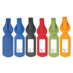 Étiquette à bagage Colorplay en cuir no. 1