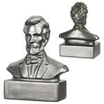 Buste d'Abraham Lincoln anti-stress
