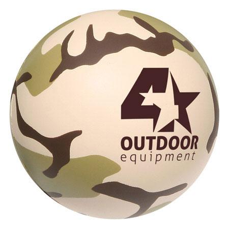 Balle anti-stress camouflage - Kaki