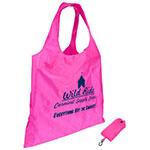 Spring Sling Folding Tote Bag - Pink