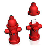 Fire Hydrant USB Flash Drive
