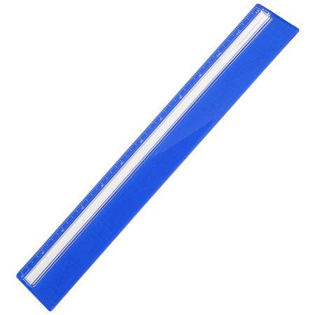 Règle/loupe - Bleu