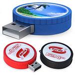 Bâton USB rond avec dôme