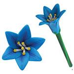 Stylo lotus bleu