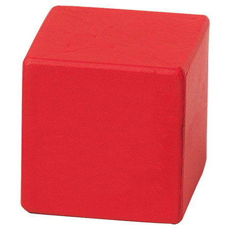 Cube Stress Ball - Red