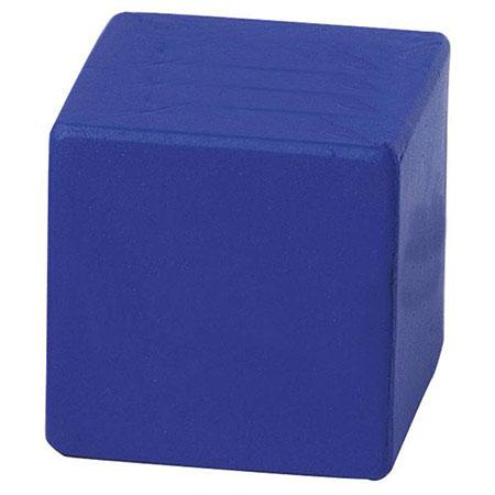 Cube balle anti-stress - Bleu
