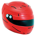Casque de motocyclette balle anti-stress