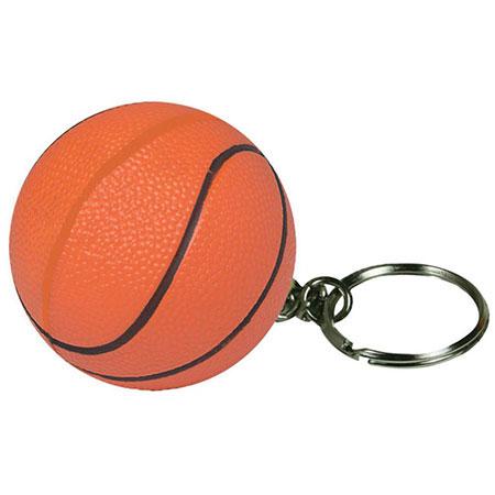 Ballon de basketball porte-clés anti-stress