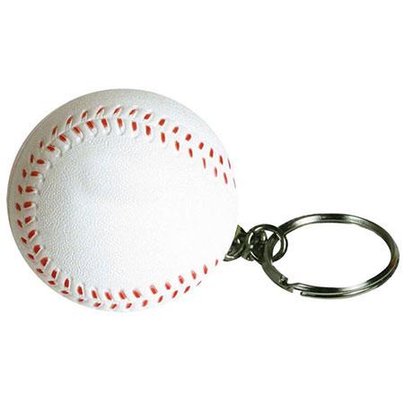 Balle de baseball porte-clés anti-stress
