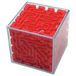 Labyrinthe cubique - Rouge