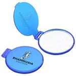 Miroir de poche - Bleu