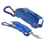 Porte-clés outil universel - Bleu