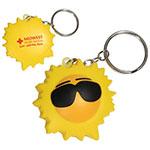 Soleil porte-clés anti-stress