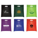 Non Woven Cut-Out Handle Tote