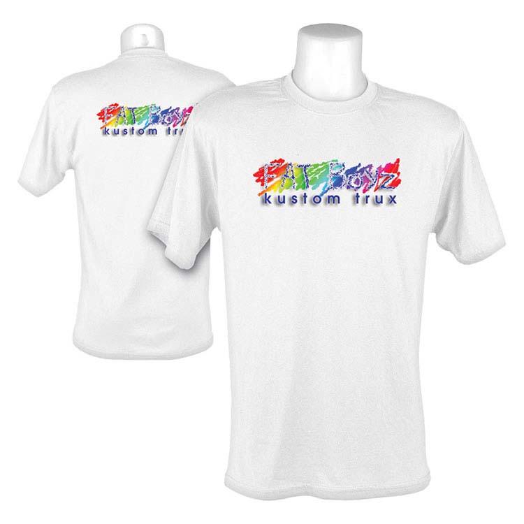 Chandail T-Shirt à manches courtes - Blanc