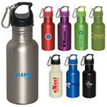 Wide Mouth Stainless Steel Water Bottle - 500 ml (16 oz)