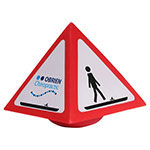 Warning Sign Wobbler Stress Reliever