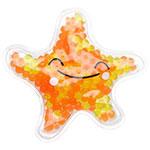 Poche au gel en forme d'étoile de mer