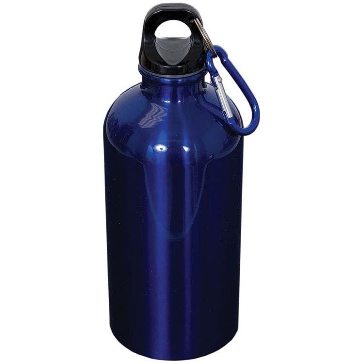 Bouteille d'eau en acier inoxydable avec mousqueton - 500 ml (16 oz) #2