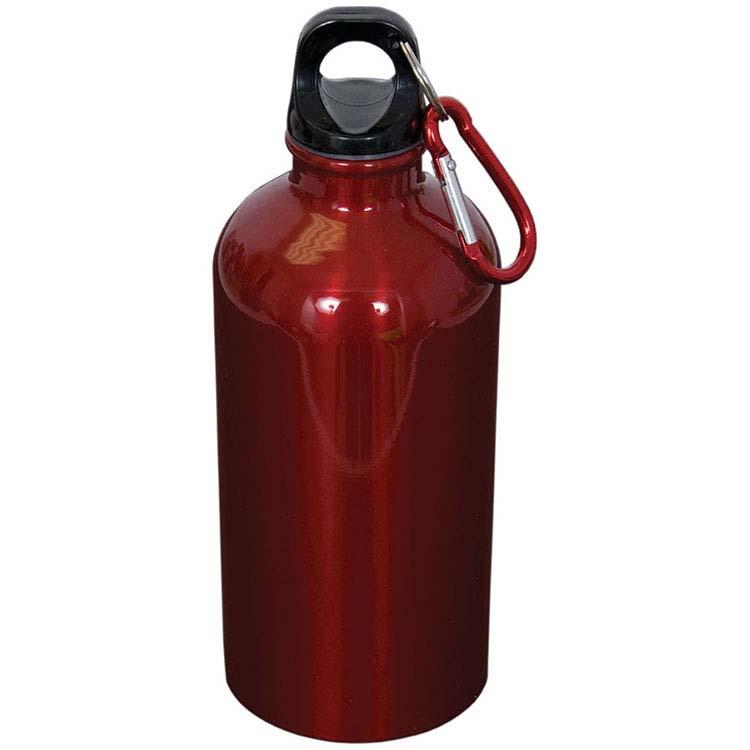 Bouteille d'eau en acier inoxydable avec mousqueton - 500 ml (16 oz) #5
