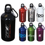 Stainless Steel Water Bottle with carabiner - 500 ml (16 oz)