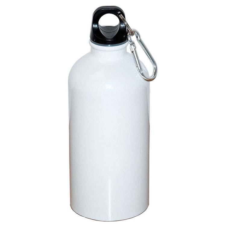 Bouteille d'eau en acier inoxydable avec mousqueton - 500 ml (16 oz) #7