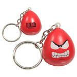 Porte-clés mini personnage amusant anti-stress - Enragé