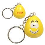 Porte-clés mini personnage amusant anti-stress - Maniaque