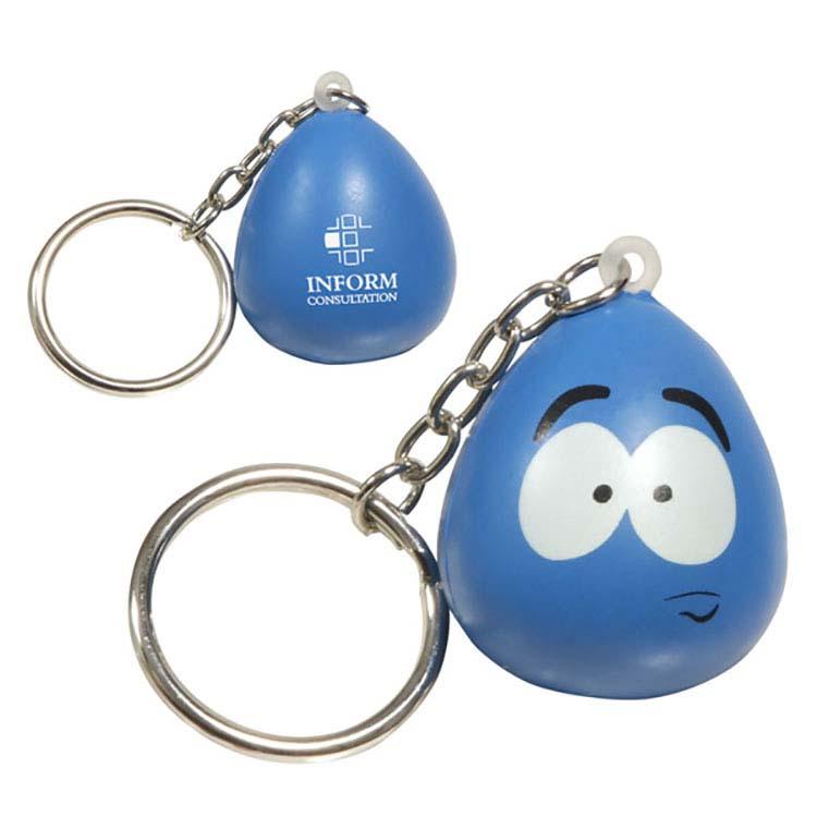 Porte-clés mini personnage amusant anti-stress - Stressé